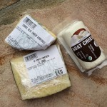 Manchego, Cashel Blue and Goat cheese