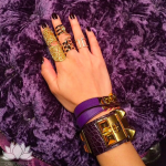 @mssasin purple arm party