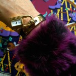 Kelly watch and fur cuff