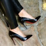 Iconic Louboutins Pigalle 100mm