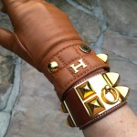 Hermes gloves and Collier de Chien