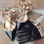 Valentino Rockstud gloves and shoes