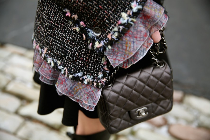 Chanel jacket and bag