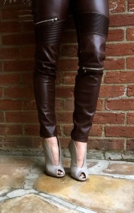 Gianvito Rossi booties, Zara trousers