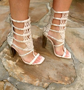 BCBG Post Sandal