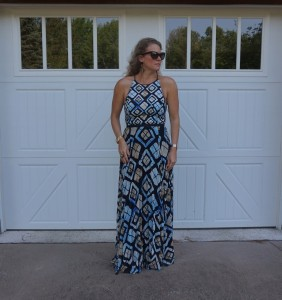 SB by Sachin and Bibi maxi dress