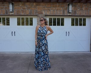 Sachin and Babi Marisol Maxi dress