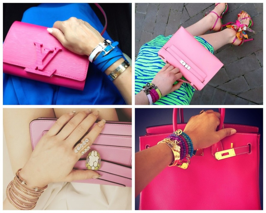 Perfectly pink armparties