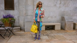 Hermes giant scarf, Celine citron mini luggage