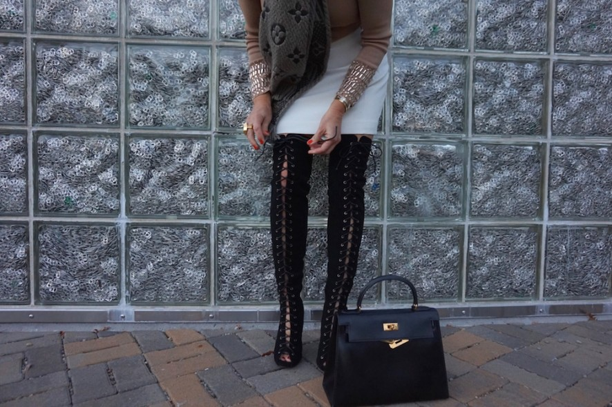 Primmadiva Envy lace up boots