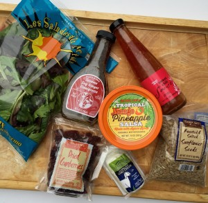 Trader Joe's ingredients for shrimp salad