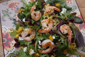 Trader Joe's sweet and tangy shrimp salad