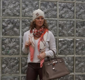 Hermes paperoles cashmere shawl