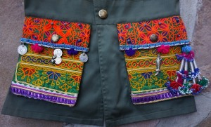 Military vest pockets