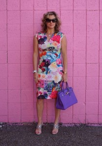 Ted Baker floral swirl dress