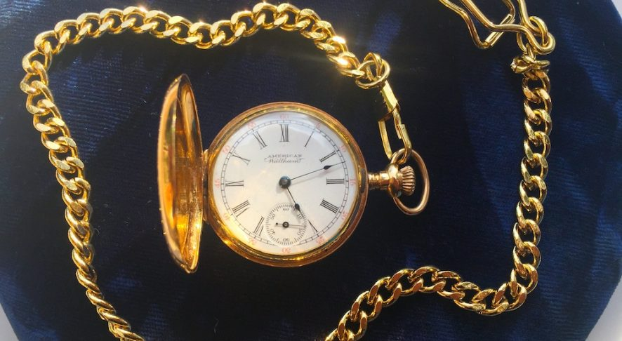 American Waltham ladies pocket watch