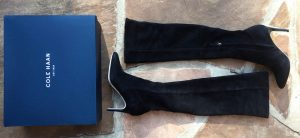 Cole Haan over the knee boots