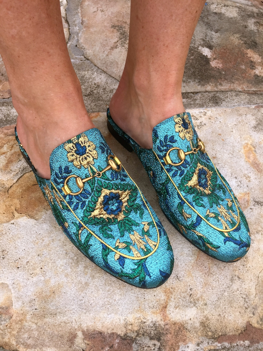 Brocade loafers Gucci H6nXJ