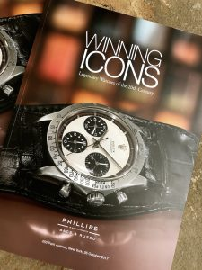 Winning Icons Phillips auction