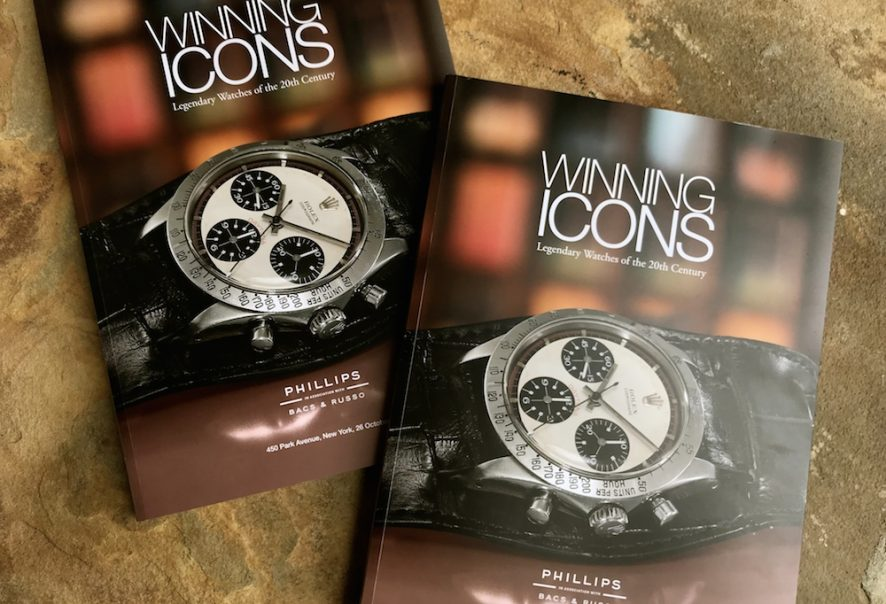 Winning Icons watch auction