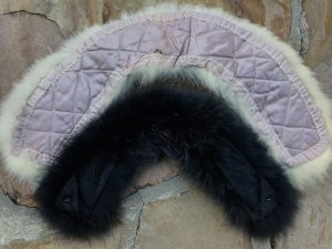 DIY Hermes fox fur collar