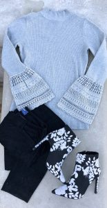 Who what wear Target bell lace sweater