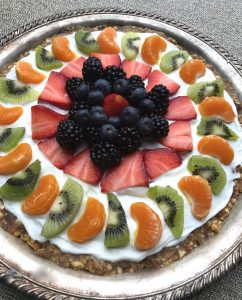 Healthy desserts fruit tart