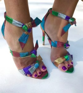 Alexandre Birman Rainbow lolita sandals