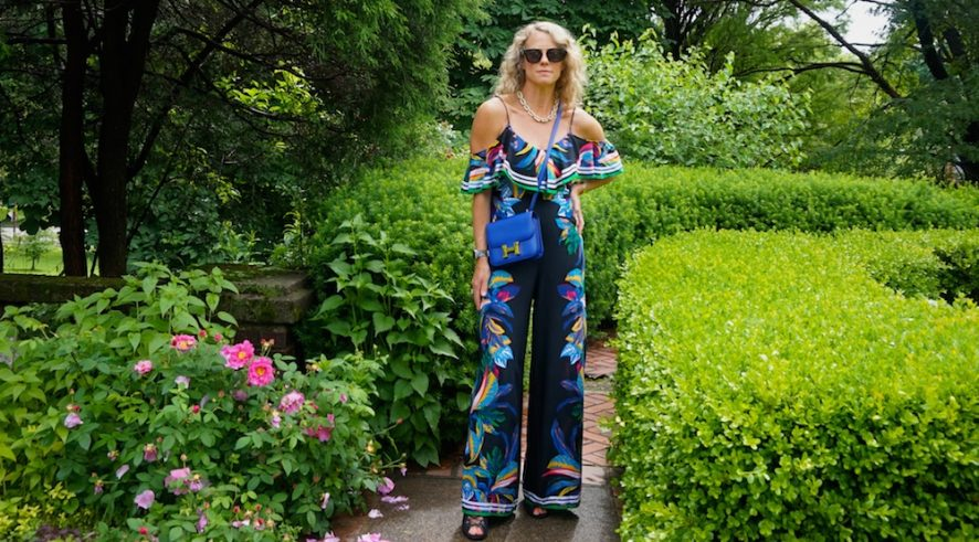 Floral multicolor tropical marshalls jumpsuit 2019