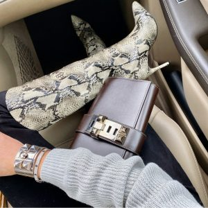 hermes 29cm chocolate medor clutch, hermes all silver cdc
