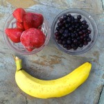 Fruit for berry smoothie
