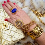 Lynx fur and vintage Chanel