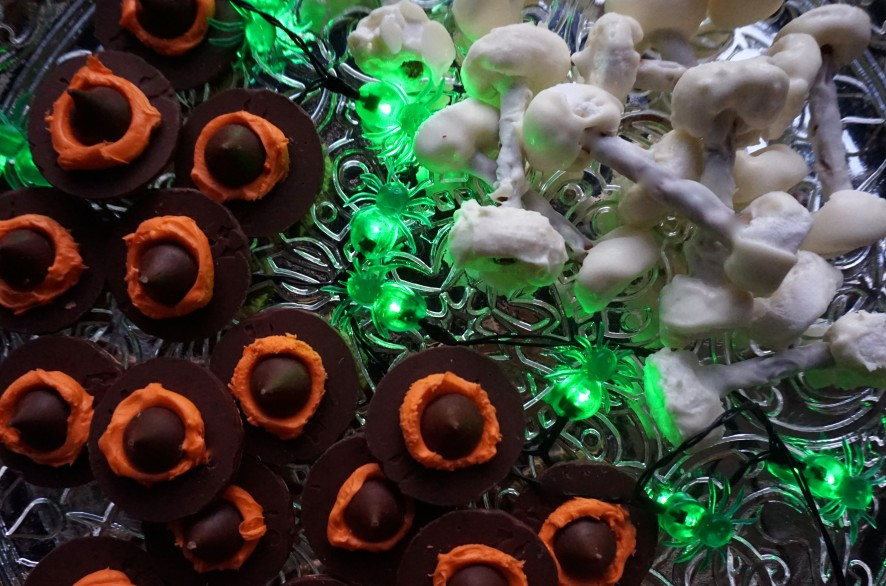 Witches' Hats and Funny bones treats