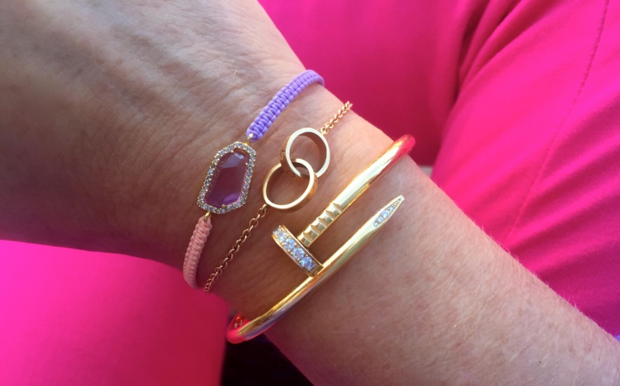 Cartier pink gold love bracelet